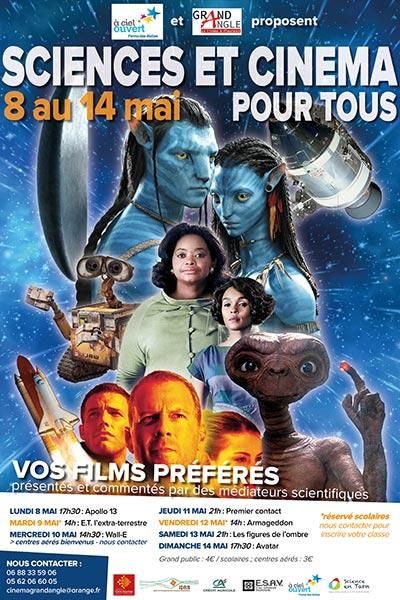 FLEURANCE: Festival sciences et cinéma pour tous - du 8 au 14 mai
